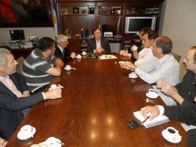 Bevilacqua se reunió con la Liga Vecinalista de la Sexta sección que responde a Sergio Massa