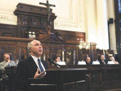 Lorenzetti admiti� que es necesaria una reforma del Poder Judicial