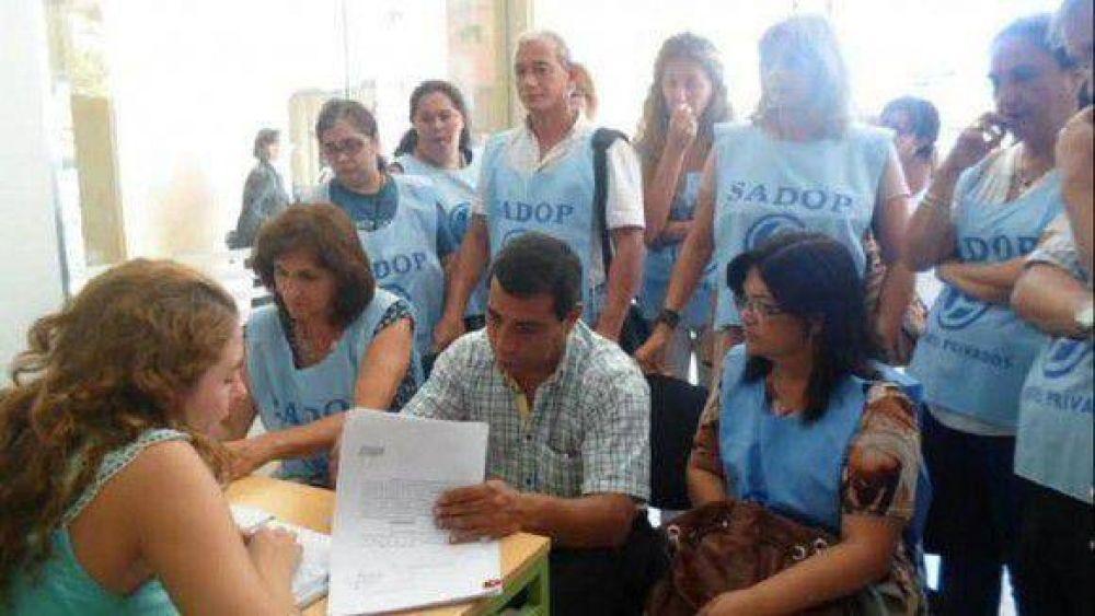 SADOP denunció al gobierno por discriminación ideológica