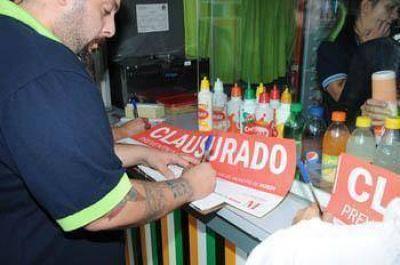Operativo contra la venta de alcohol en estaciones de trenes