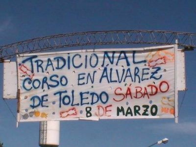 Sábado 8 de marzo, corso en Álvarez de Toledo