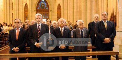 Realizaron misa por los 50 años de la UCALP
