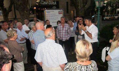 Nueva reunión por la seguridad en Olivos