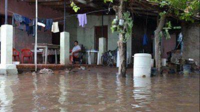 La UCR responsabilizó al Gobierno por las inundaciones en Alberdi