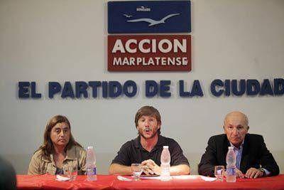 Acción Marplatense debatió sobre temas políticos y estratégicos