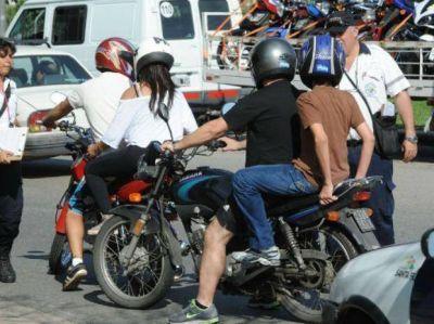 En los últimos dos meses se remitieron más de dos mil motos al corralón municipal