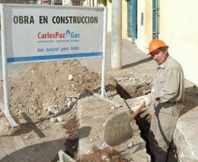 Carlos Paz Gas se alista para habilitar la obra en La Quinta