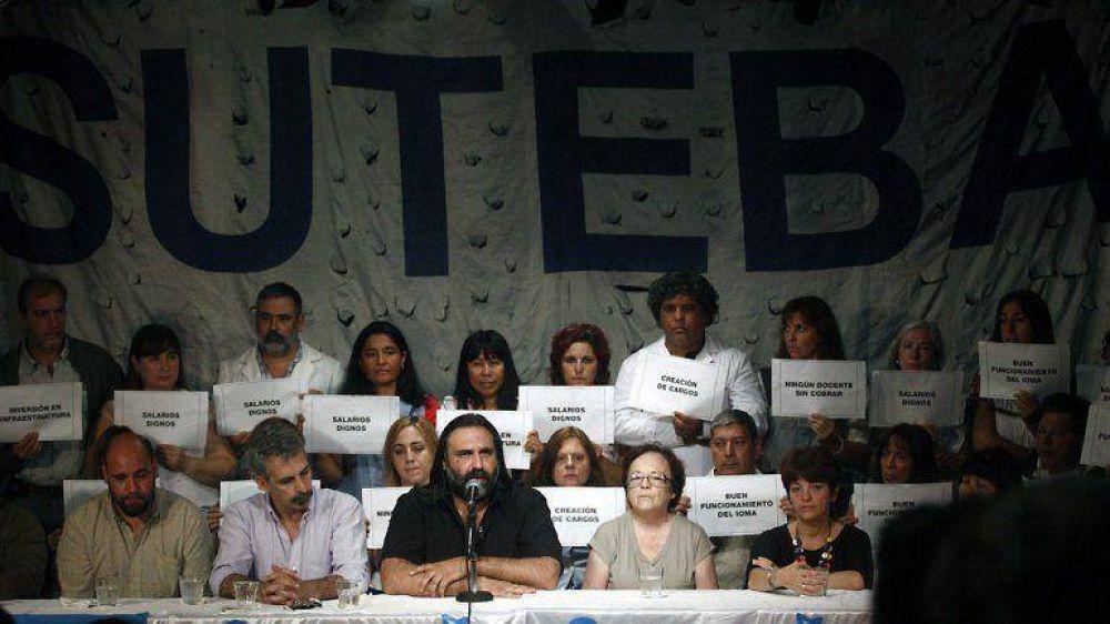 Paritarias: estatales y docentes bonaerenses presionan al Gobierno con cuatro días de paro