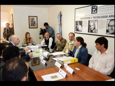 Gestionan exportar un servicio entrerriano de tecnolog�a m�dica a Brasil y Uruguay