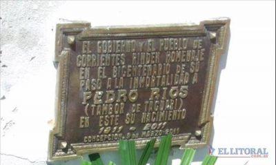 El pueblo de Concepción del Yaguareté Corá rindió un sentido homenaje a Pedro Ríos