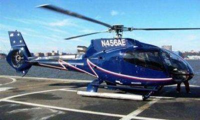 """Mantener el helicóptero """"personal"""" de Closs supera el millón de pesos mensual"""