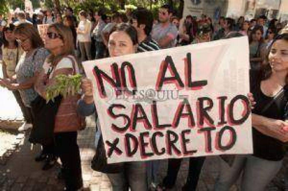 Los sindicatos docentes esperan propuestas salariales en blanco