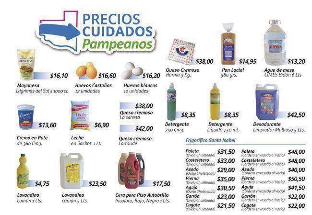 """Los """"Precios Cuidados Pampeanos"""" arrancan solo en los supermercados"""