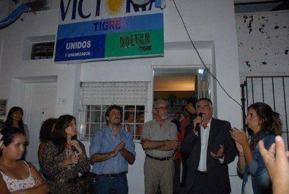 El FpV-Kolina inauguró tres locales partidarios en Tigre