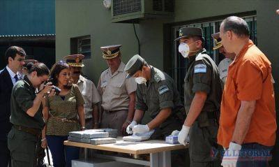 Quemaron droga secuestrada en una avioneta en Santo Tomé