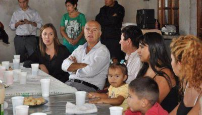 Vidal y Grindetti recorrieron el municipio de Presidente Perón