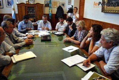 Inseguridad: Curetti se reunió con concejales