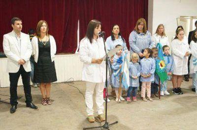 Se realizó el acto oficial por el 105º aniversario de Moquehuá