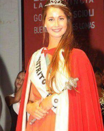 Candela Cavallero de Tres Lomas, Reina Provincial del Carnaval
