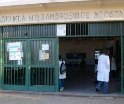 Tres escuelas deterioradas en menos de una semana de clases