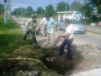 San Vicente: Intenso esquema de acciones directas en Obras Públicas