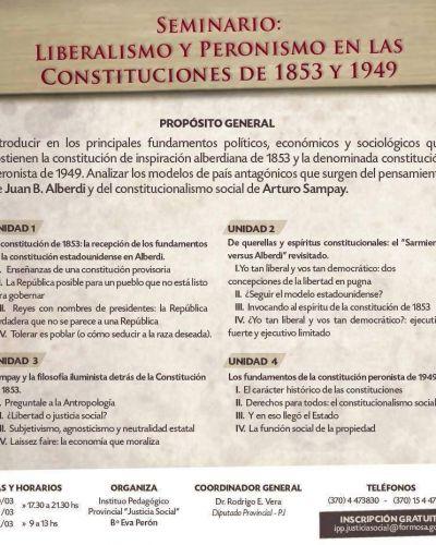 Dante Palma ofrecerá un seminario en el Instituto Provincial Pedagógico