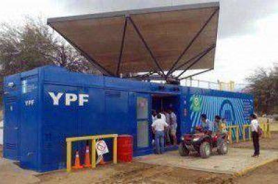 Distinguen atención del M.A.S. de YPF asentado en Canalejas