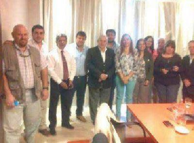 Concejales de Capital se reunieron con Fonzalida