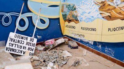 El museo de Astra continúa siendo saqueado y dañado