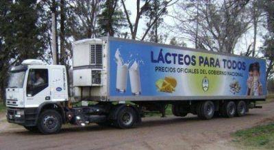 """""""Lácteos para Todos"""", en Plaza y Santa Sylvina"""