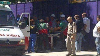 Parque Patricios: se derrumbó una obra en construcción y hay 5 heridos