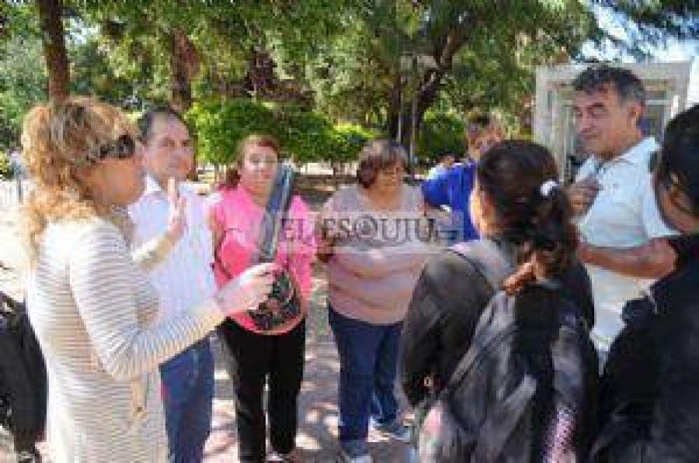 Los no docentes pararon por 24 horas, reclamando un incremento salarial