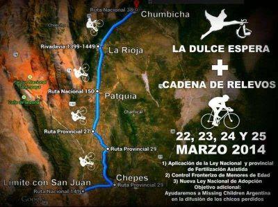 Atravesarán La Rioja en bicicletas por causas solidarias
