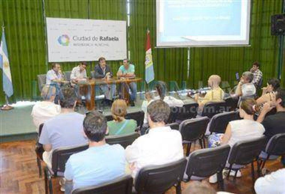 El Intendente se reunió con beneficiarios del PROCREAR