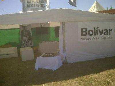 Presencia bolivarense en Expoagro