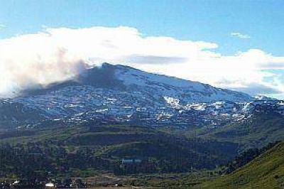 Nuevo sismo en cercan�as del cr�ter del volc�n Copahue