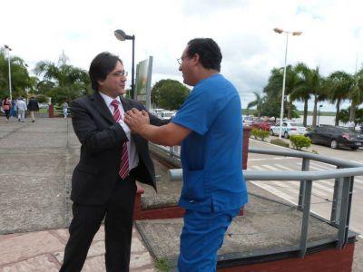 Adrián Bogado a favor de la reforma del Código Penal