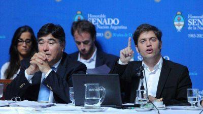 En su presentación en el Senado, Kicillof dejó dudas por el criterio para calcular el valor de YPF