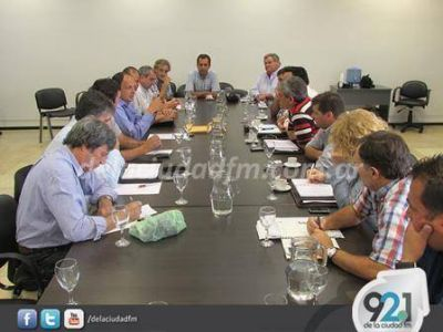 El Frente Renovador de la 6ª Sección se reunió con el legislador Pablo Garate