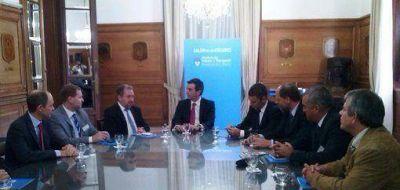 Casa Rosada: Randazzo recibió al Ministro de Gobierno y varios intendentes de Misiones