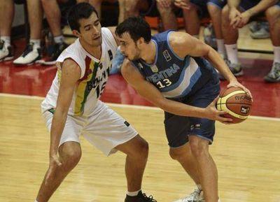 Argentina derrotó a Bolivia con una andanada de triples: 82-37