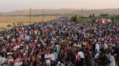 La ONU aseguró que más de 9.000.000 de sirios huyeron de sus hogares por la guerra