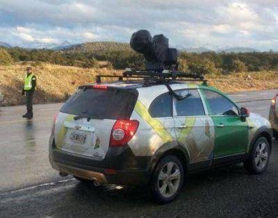 Google Street View llegó a Ushuaia