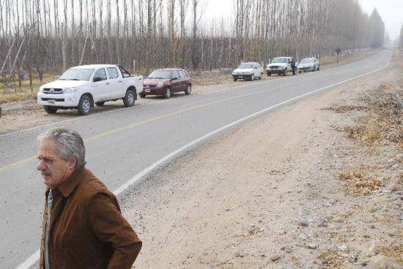 Pequeños productores no pagarán el asfalto rural