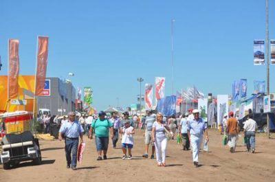 Varias actividades y visitas suspendidas por la intensa lluvia en la Expoagro