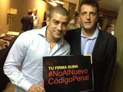 Queijeiro se reunió con Massa