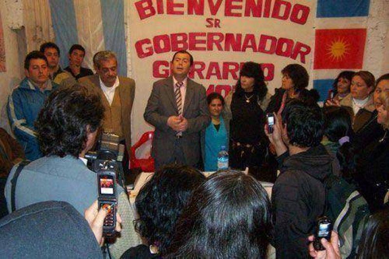 Los candidatos del Frente C�vico siguen sumando apoyo
