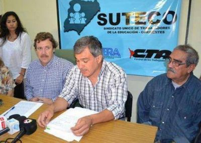 Con amenaza de descuentos, Suteco ratifica paro de 48 horas