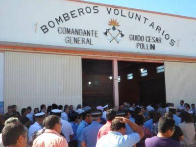 Dolor y pesar en la despedida al comisario Julio Barrios