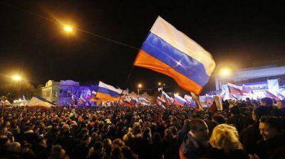 El parlamento de Crimeo pidió formalmente la anexión de la penísula a Rusia